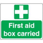 Safe Safety Sign - Fire Aid Box 131